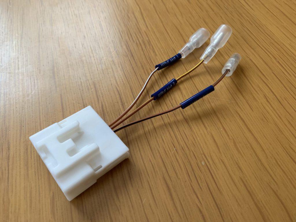 トヨタ用ステアリングリモコンに接続するコネクターEJC-0003