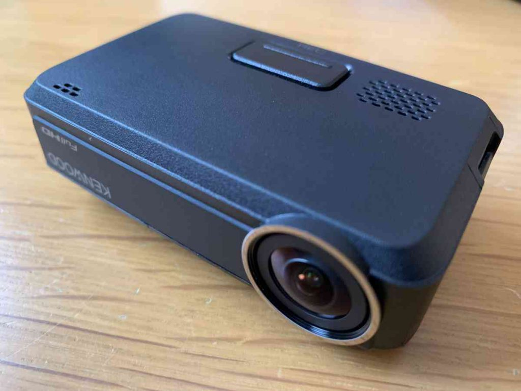 ケンウッド製のドラレコ DRV-N530 カメラ部分
