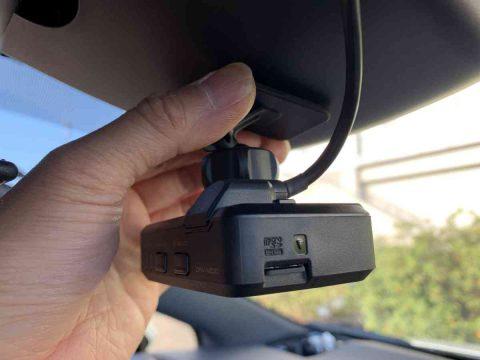 ドライブレコーダーDRV-N530の取付