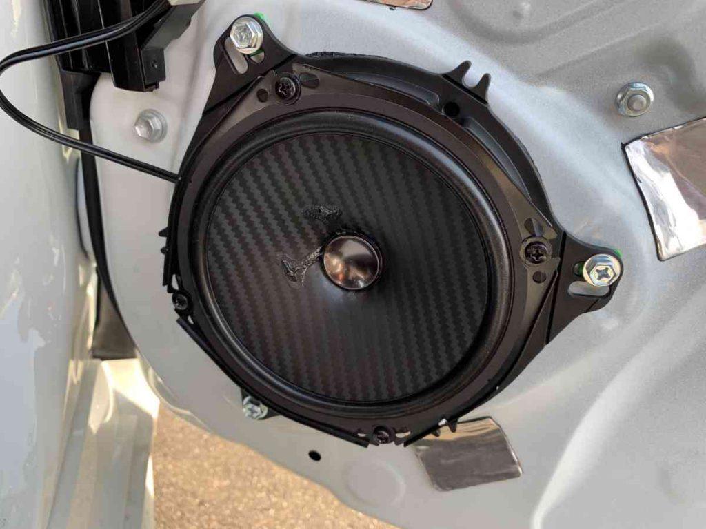 カロッツェリア カースピーカー TS-F1740S交換・取り付け状態